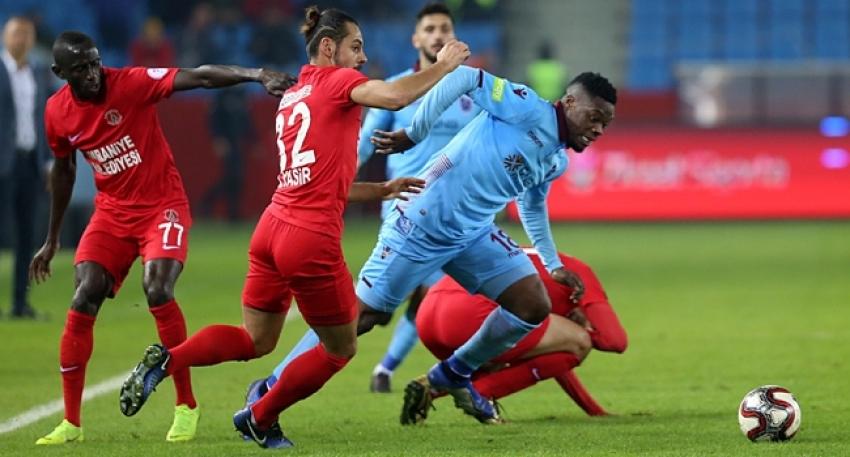 Trabzon'da gol sesi yok
