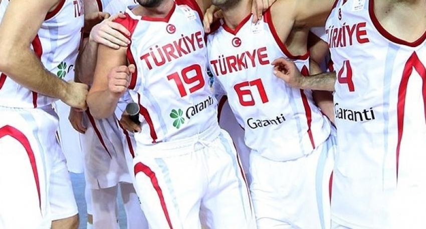 A Milli Erkek Basketbol Takımı'nın kadrosu belli oldu