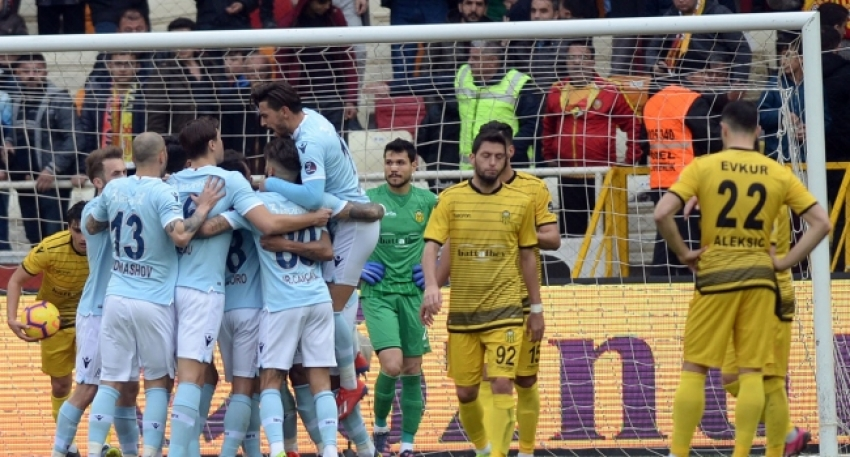 Evkur Yeni Malatyaspor 0-2 Başakşehir
