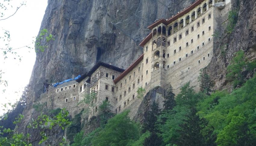 Sümela Manastırı 15 Haziran'ı bekliyor