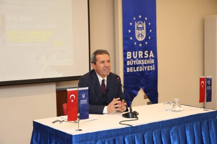 Yazar Necip Tosun Bursalılarla buluştu