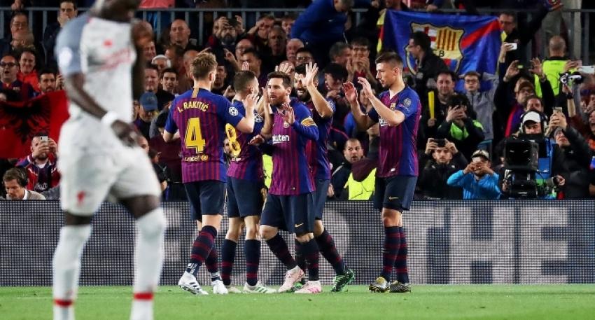 Messi Liverpool'un hayallerini yıktı