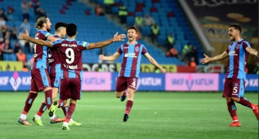 Gol düellosunda kazanan Trabzonspor