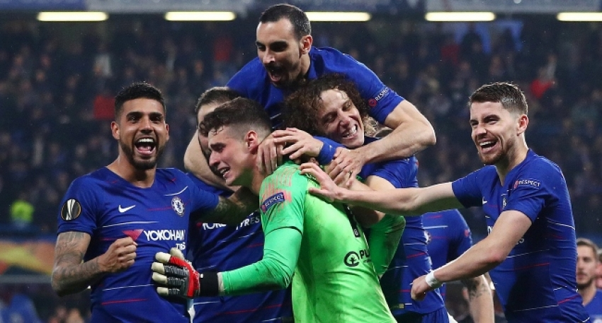 Chelsea penaltılarla finalde