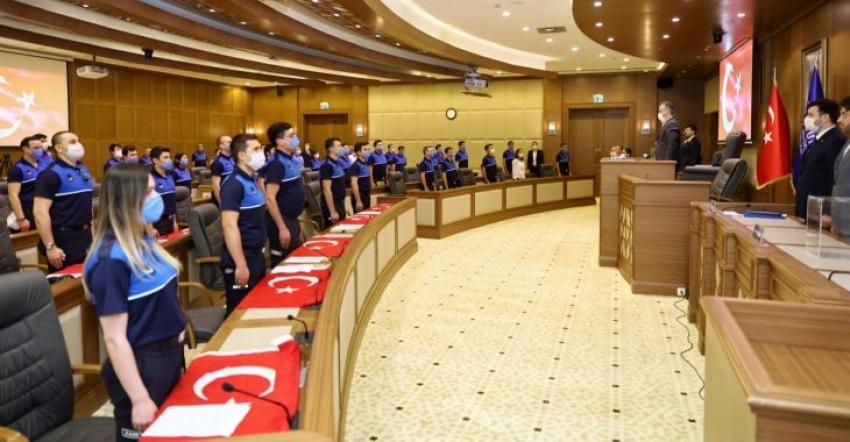 Bursa Büyükşehir'de 'yemin' heyecanı