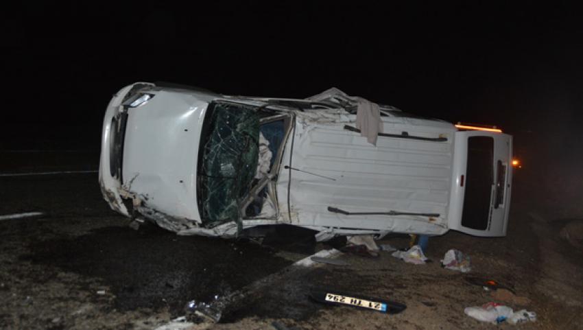 Siirt'te feci kaza: 3 ölü