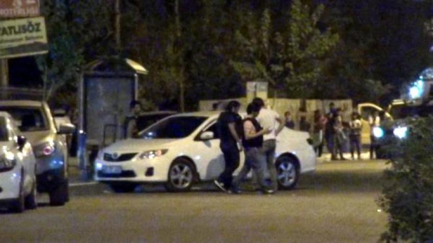 Polisi alarma geçiren araç!
