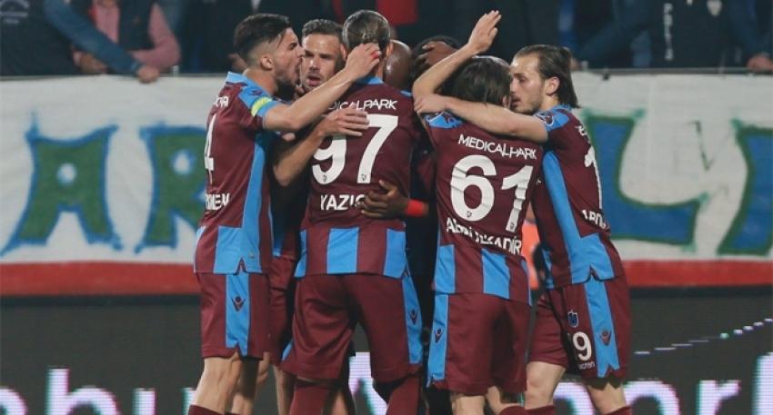 Trabzonspor Rize'ye vurdu geçti