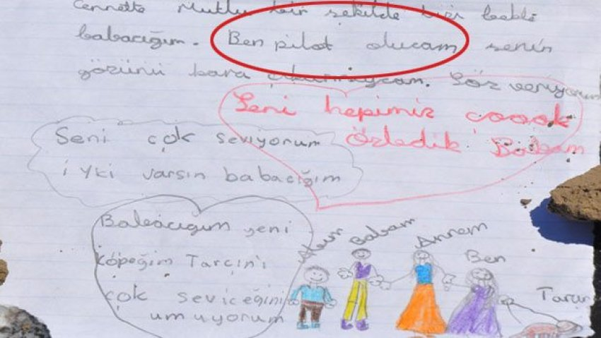 Türkiye'yi ağlatan mektup