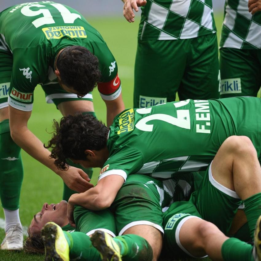 Bursaspor-Bolu maçından en özel kareler