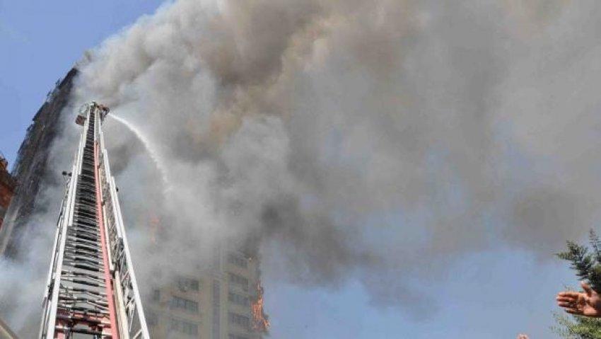 16 katlı binada öldüren yangın