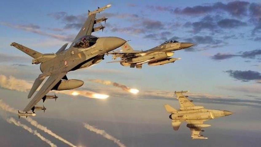 Suriye sınırına rekor sayıda F-16