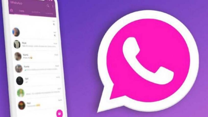 Pembe WhatsApp yükleyenler dikkat!