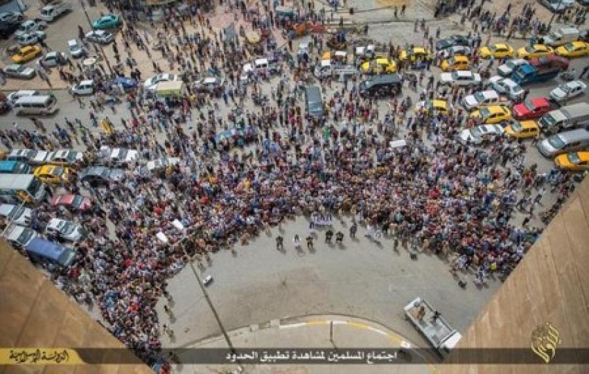 IŞİD'ten korkunç infaz
