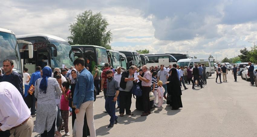 6 bin Sivaslı oy kullanmak için İstanbul'a gitti