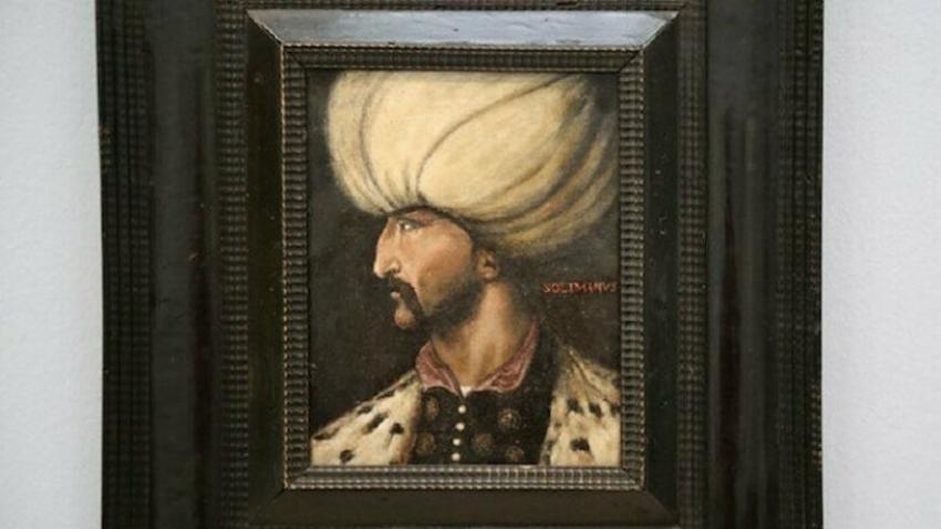 Kanuni Sultan Süleyman'ın rekor fiyata satılan portresi İBB'ye bağışlandı