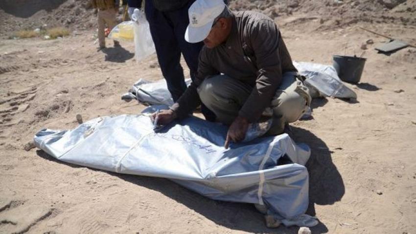 Toplu mezarlar ortaya çıktı