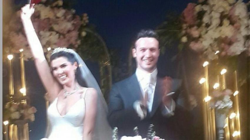 Hatice Şendil Burak Sağyaşar ile evlendi