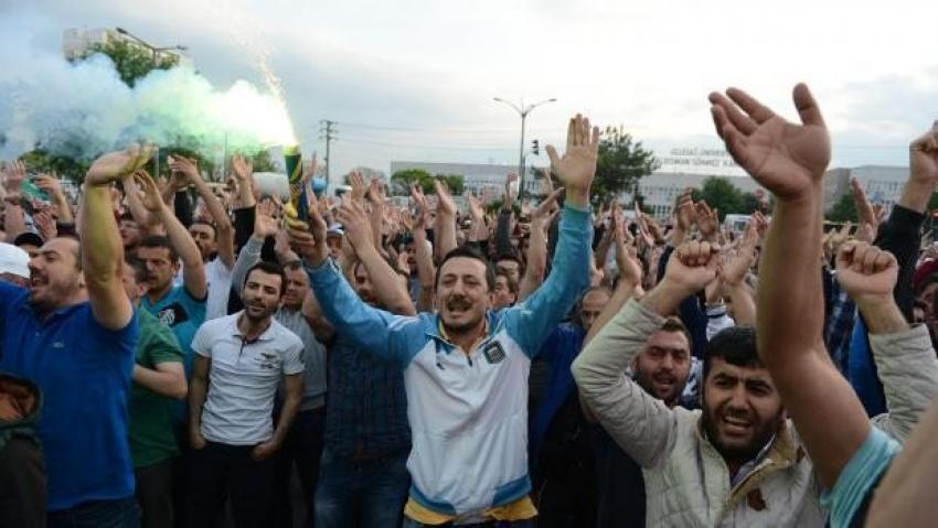 Bursa'da eylem yapan işçilere terör soruşturması