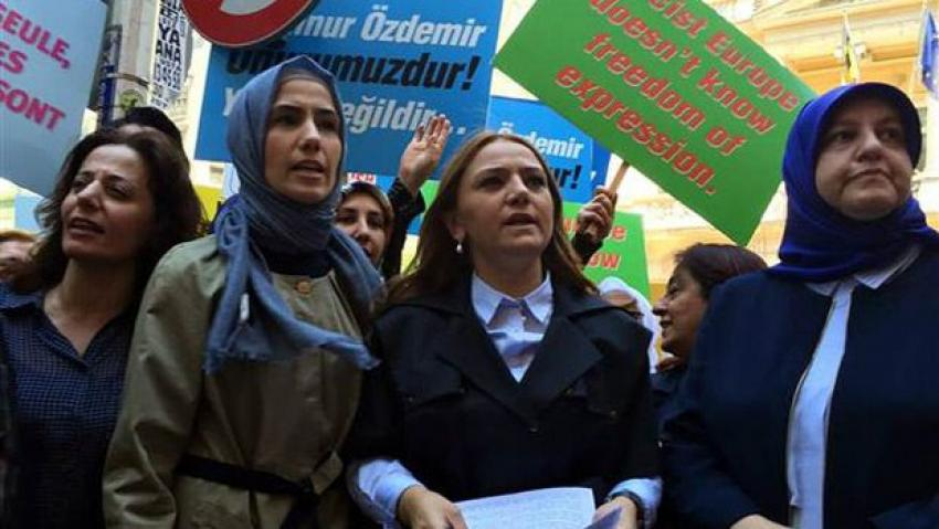 Sümeyye Erdoğan neyi protesto etti
