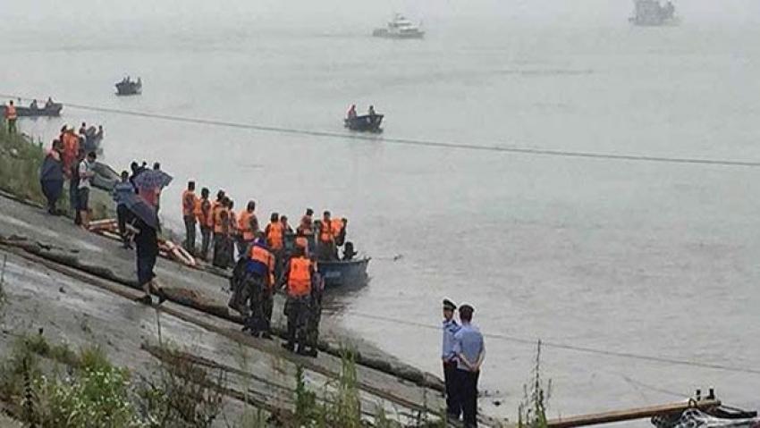 Çin'de gemi faciası!