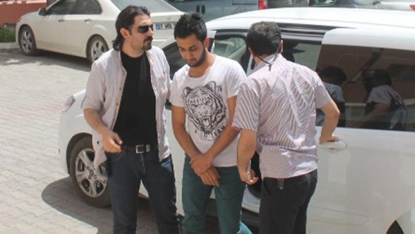 Erdoğan için 'niye gelmiş' dedi, gözaltına alındı