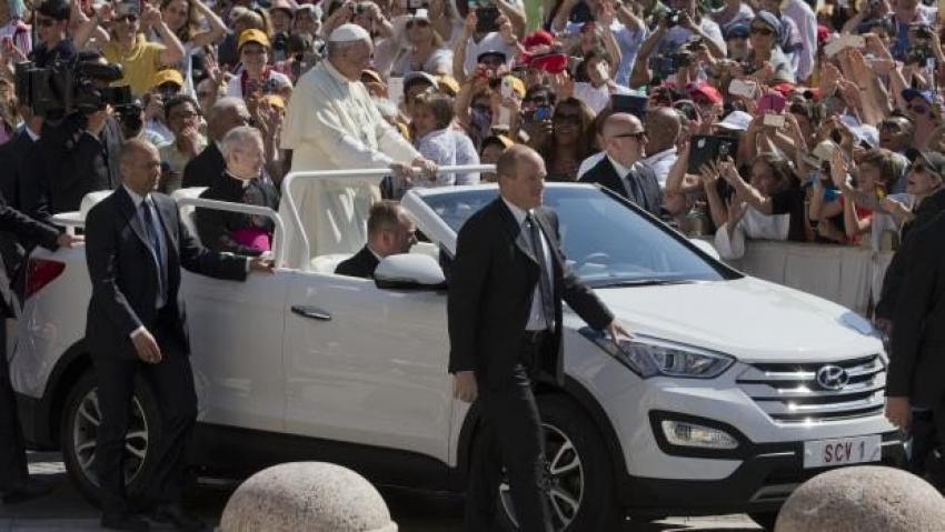 İşte Papa'nın yeni arabası