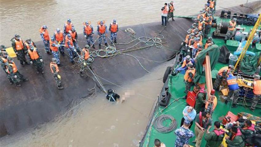Çin'de gemi kazasında ölü sayısının 65'e yükseldi