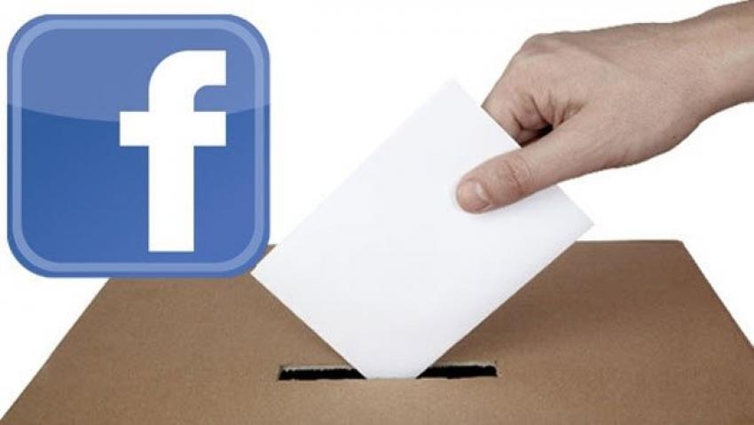 Facebook'tan  'Oy Veriyorum' butonu!