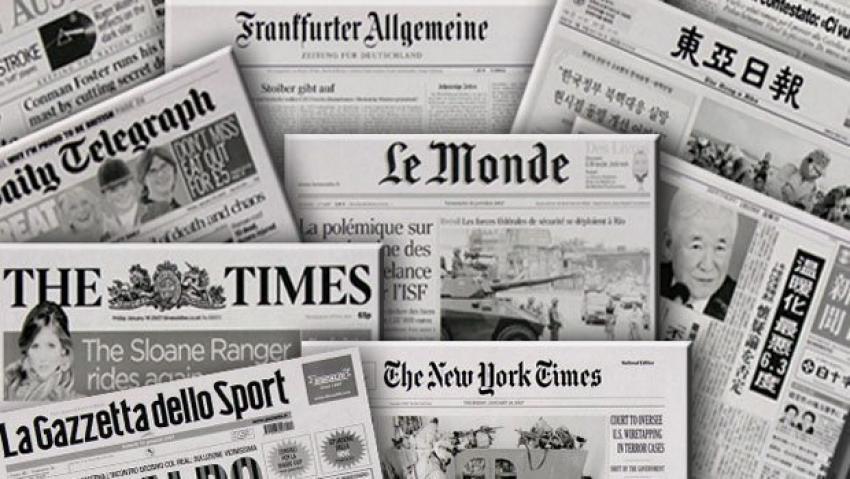 Dünya medyası 7 Haziran'a odaklandı