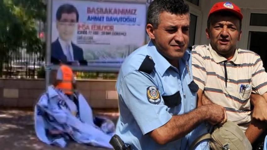 Afişleri yırtıldı:1 gözaltı