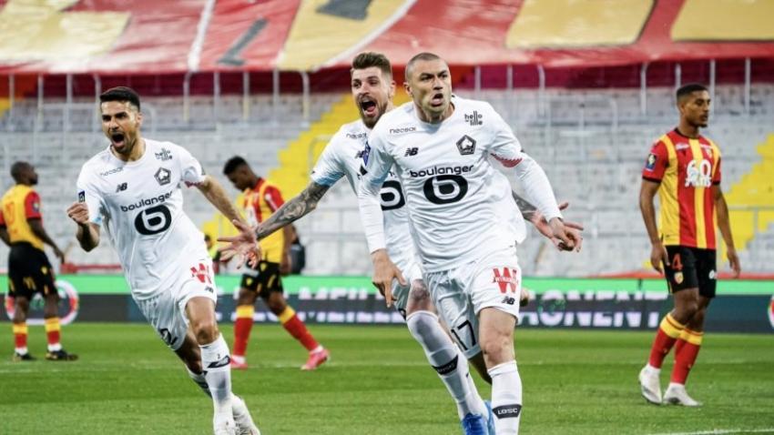 Lille 'Burak Yılmaz'ın golleriyle şampiyonluğa yürüyor