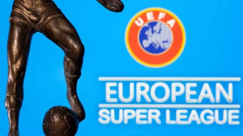 UEFA'dan ağır Avrupa Süper Ligi yaptırımı