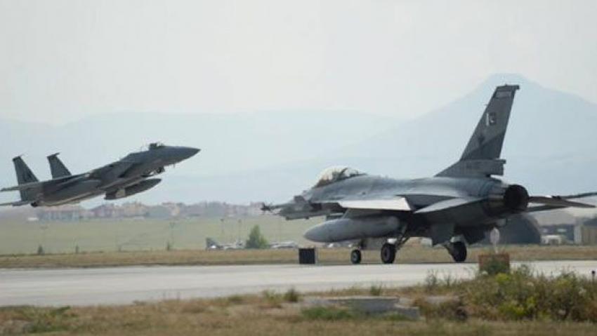 ABD savaş uçakları Konya'da