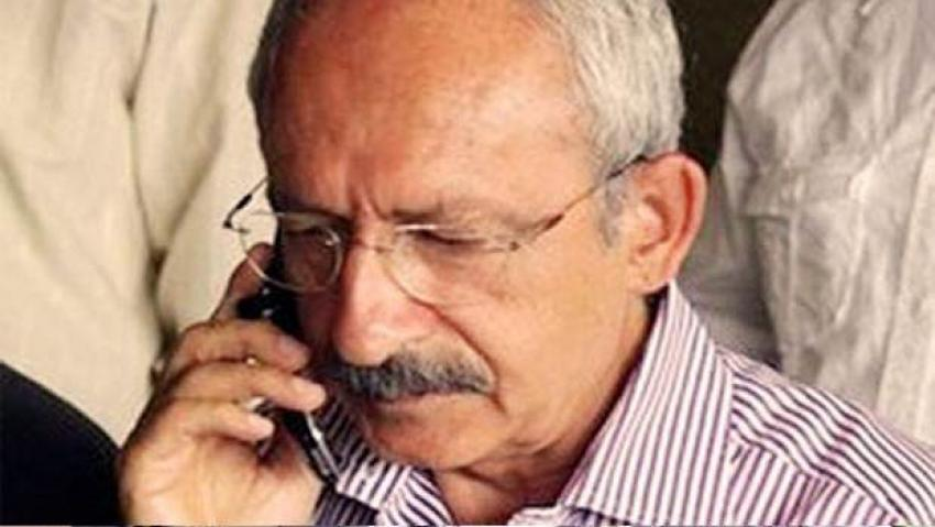 Kılıçdaroğlu'na AB'den flaş telefon