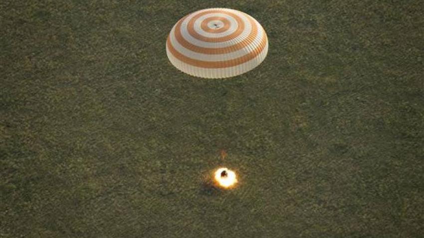Uzay aracı Dünya'ya döndü