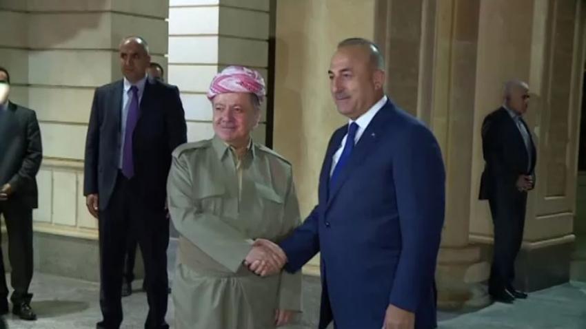 Bakan Çavuşoğlu, Erbil'de!