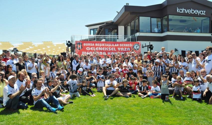Bursa Beşiktaşlılar Derneği yaza merhaba dedi