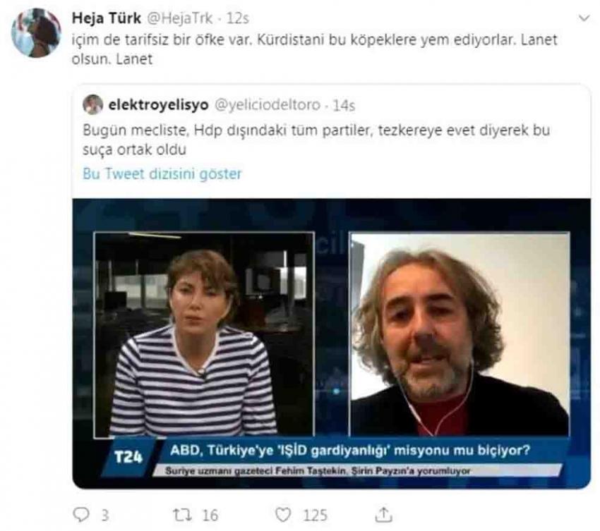 Ahmet Türk'ün torunundan skandal paylaşım