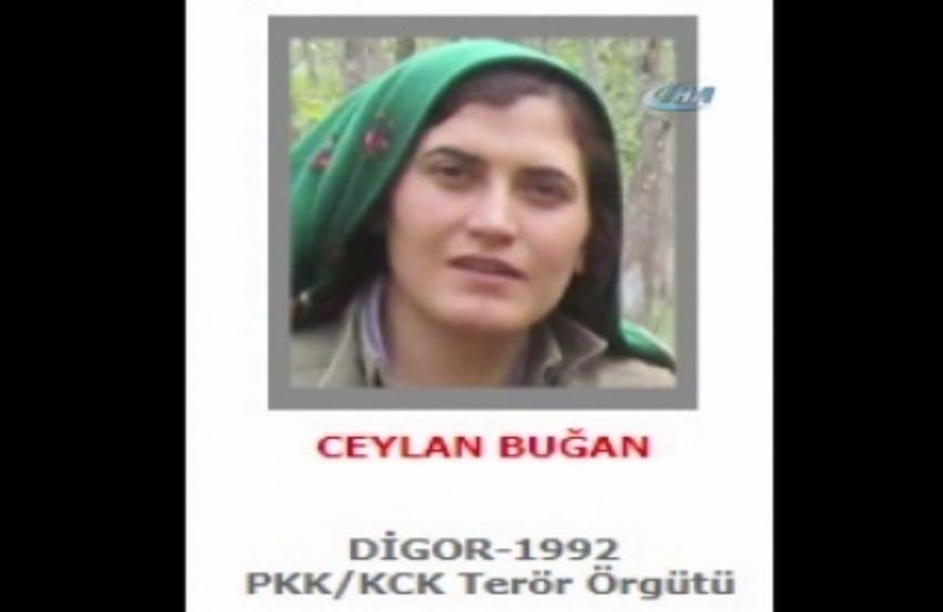 300 bin lira ödülle aranan kadın terörist öldürüldü