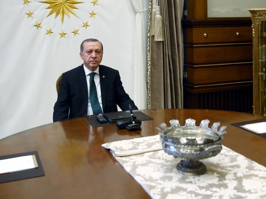 Erdoğan, İran Cumhurbaşkanı Özel Temsilcisini kabul etti