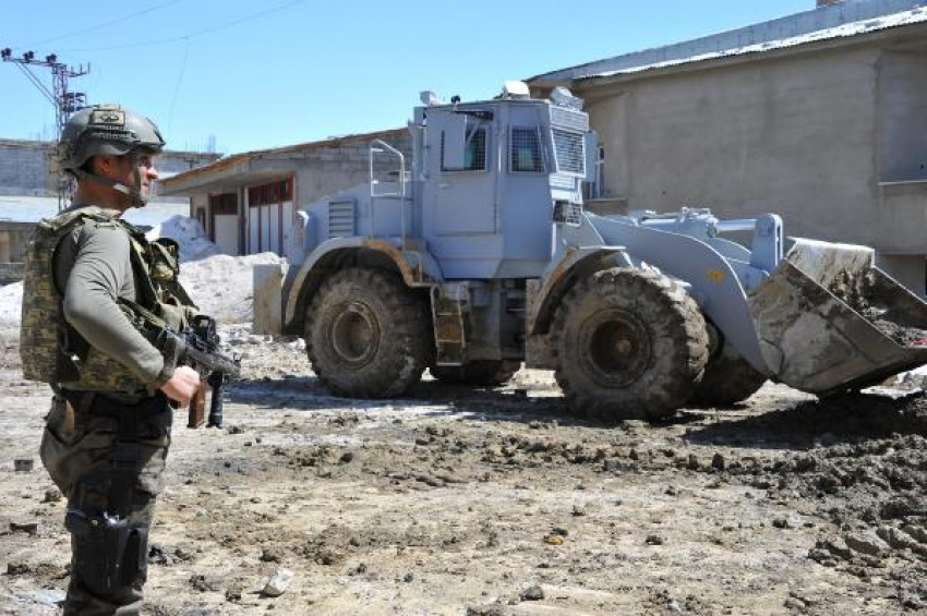 Yüksekova'daki operasyonlardan yeni kareler