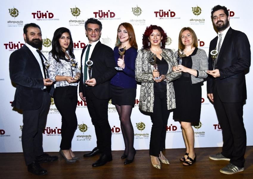 İz İletişim, Altın Pusula'da 7 ödül kazanan ilk ajans oldu