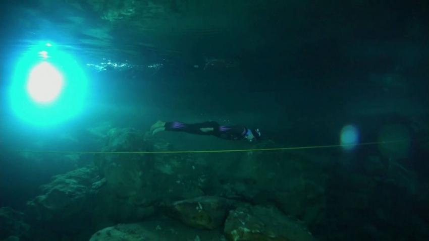 Şahika Ercümen, Gilindire Mağarası'nda dünya rekoru kırdı