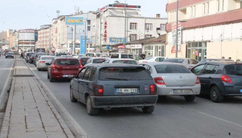 Araç sayısı 2020'de arttı