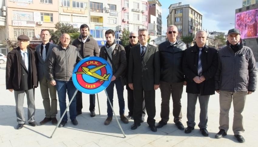 Burhaniye'de Türk Hava Kurumu'nun 95.yılı kutlandı