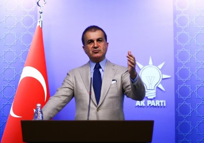 "AK Parti Sözcüsü Çelik: ""CHP politikasının ömrü 3 gün"""