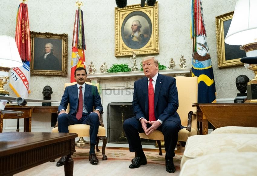 Trump'tan Katar'a övgüler