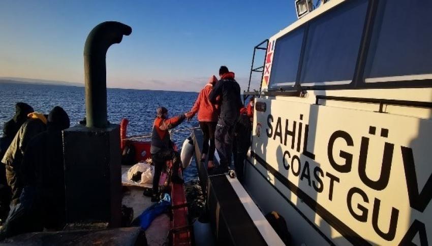 Çanakkale'de 204 düzensiz göçmen yakalandı