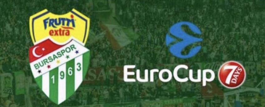 Frutti Extra Bursaspor'un iki EuroCup maçı ertelendi